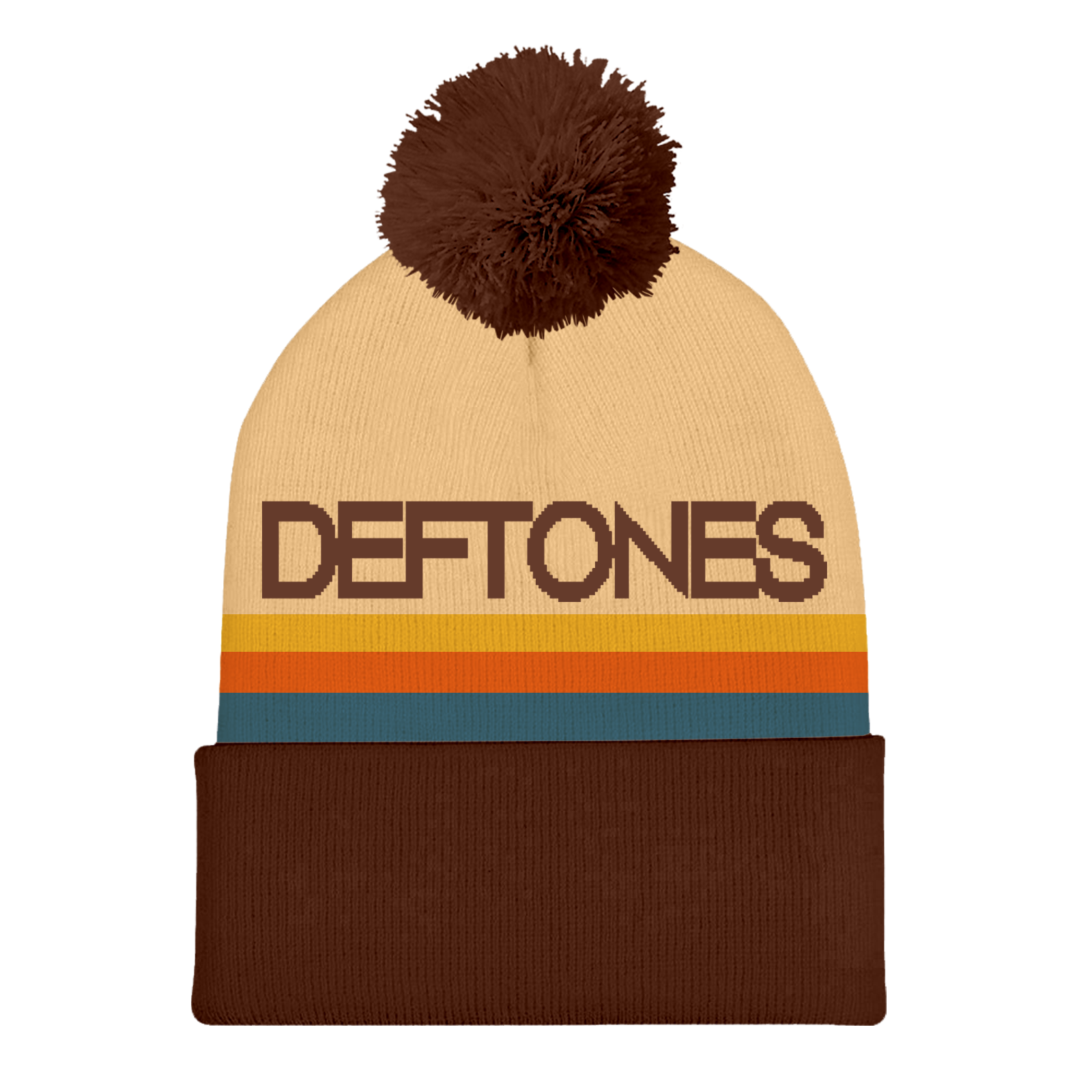 Deftones Custom Pom Beanie