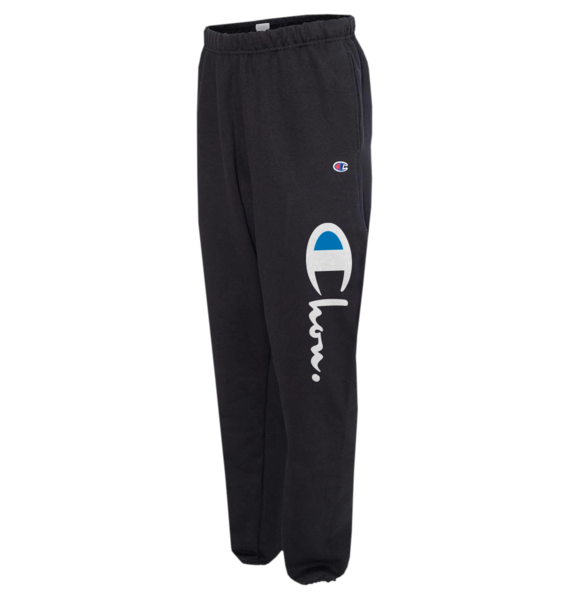 Chonpion Black Sweatpants