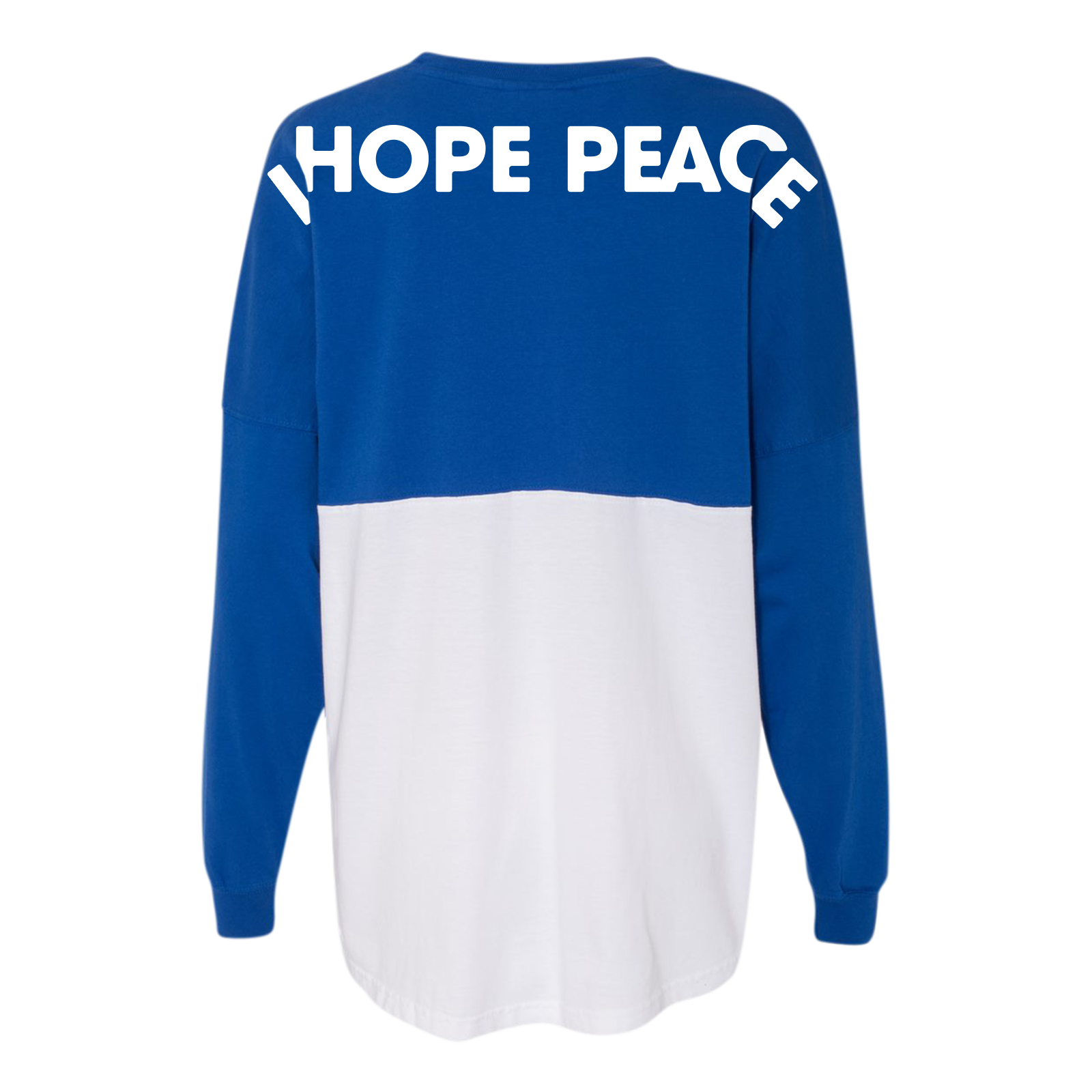 I Hope Peace Royal/White Spirit Jersey