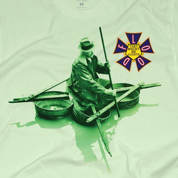 The Flood Album Cover shirt