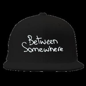 Between Somewhere Black Snapback
