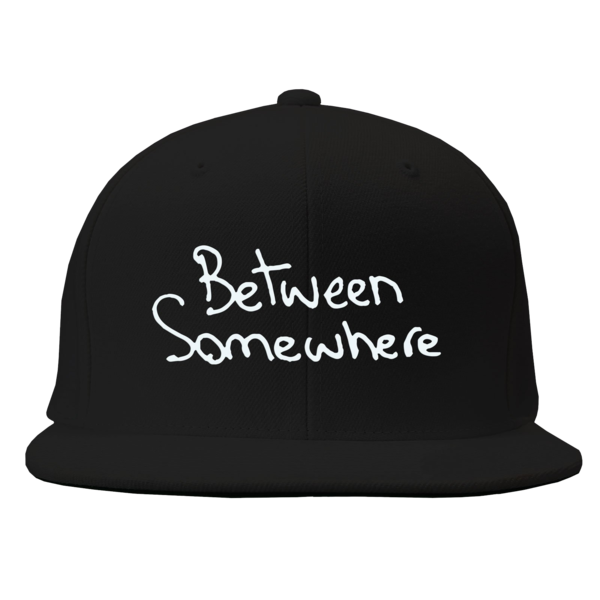 Between Somewhere Black Snapback