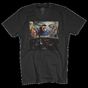 Between Somewhere World Tour Black T-Shirt