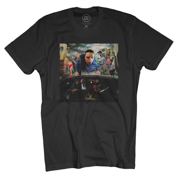 Between Somewhere World Tour Black T-Shirt