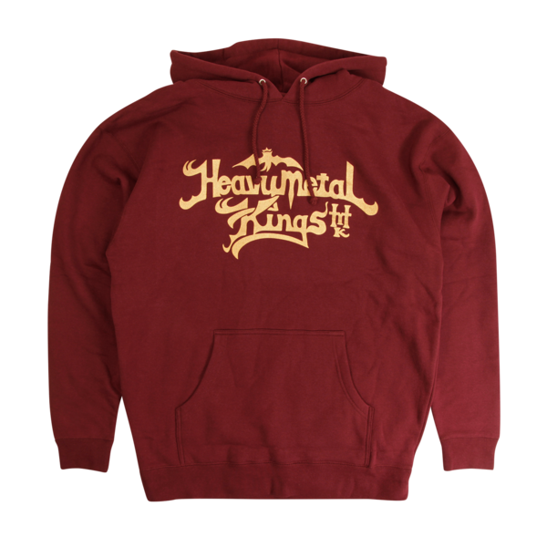 Heavy Metal Kings Currant Hoodie