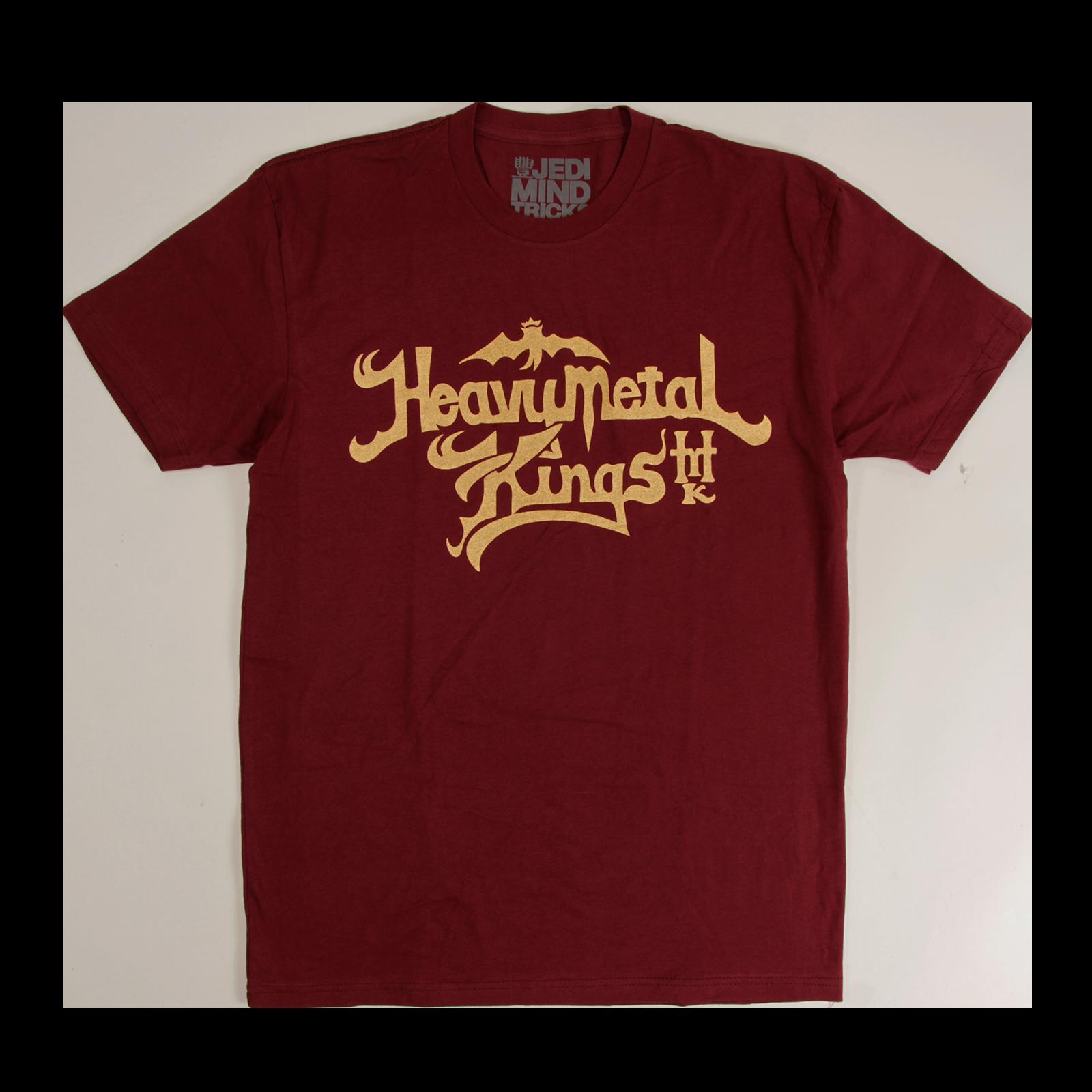 Heavy Metal Kings Maroon T-Shirt