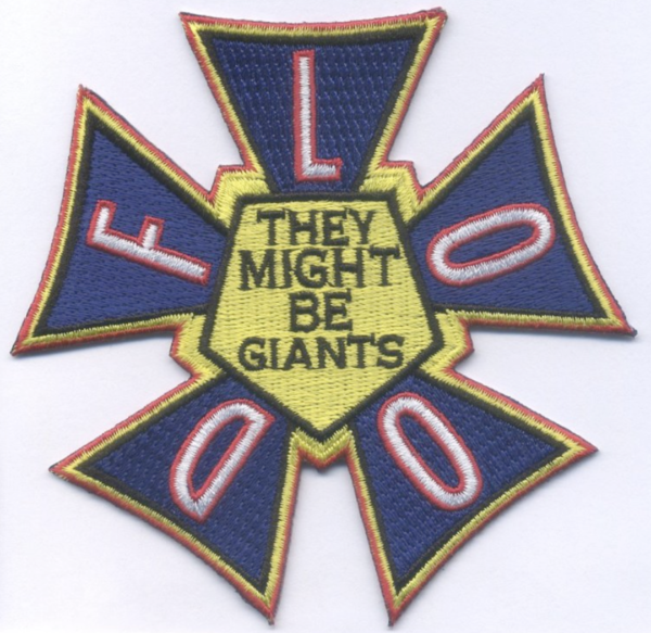 Flood Embroidered Patch