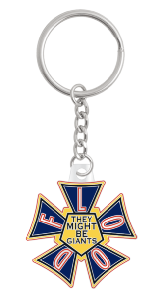 Flood Keychain