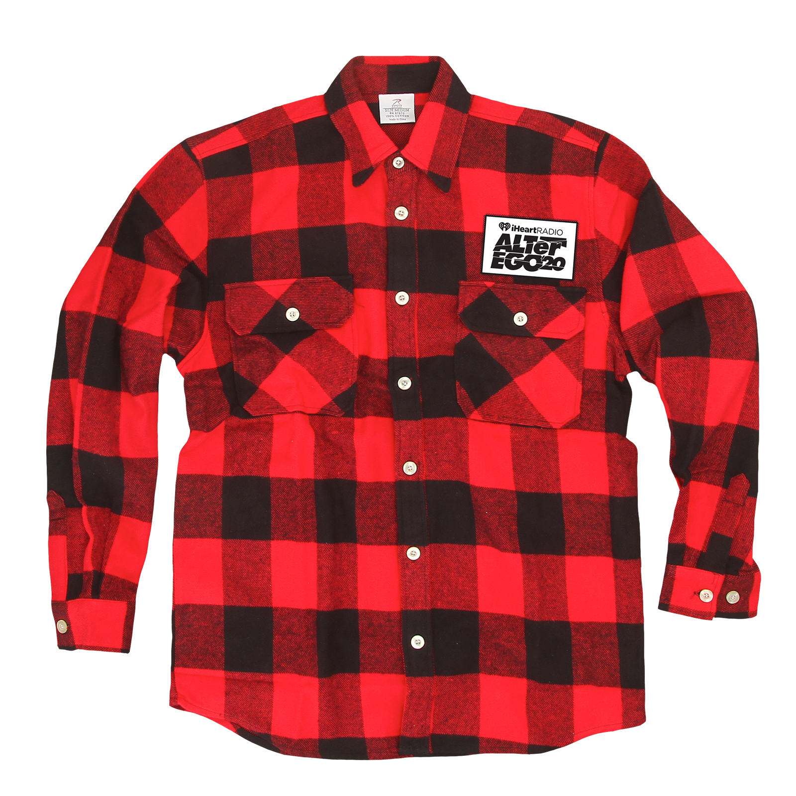 ALTer Ego '20 - Red/Black Buffalo Plaid Flannel