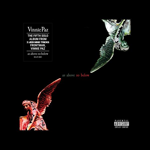 Vinnie Paz - As Above So Below - Gatefold 2LP