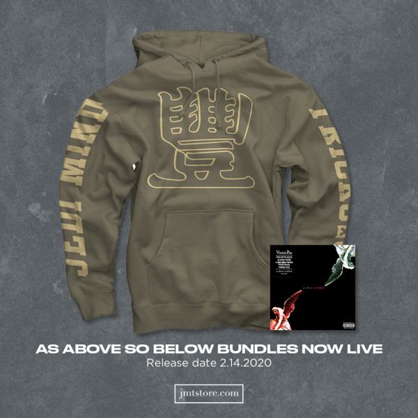 As Above So Below Bundle - Hoodie (Army Green)