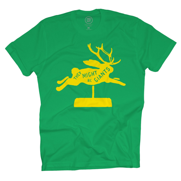 Jackalope Kelly Green Unisex T-Shirt