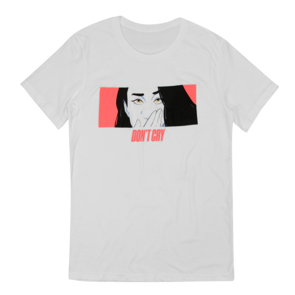 Don't Cry White T-Shirt