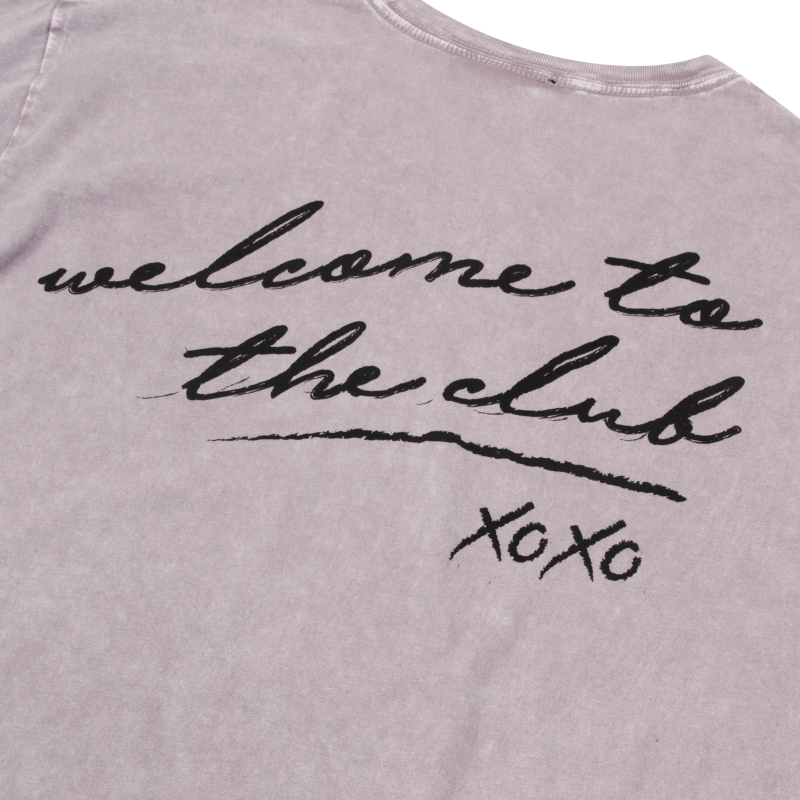 Welcome to the Club Grey T-Shirt