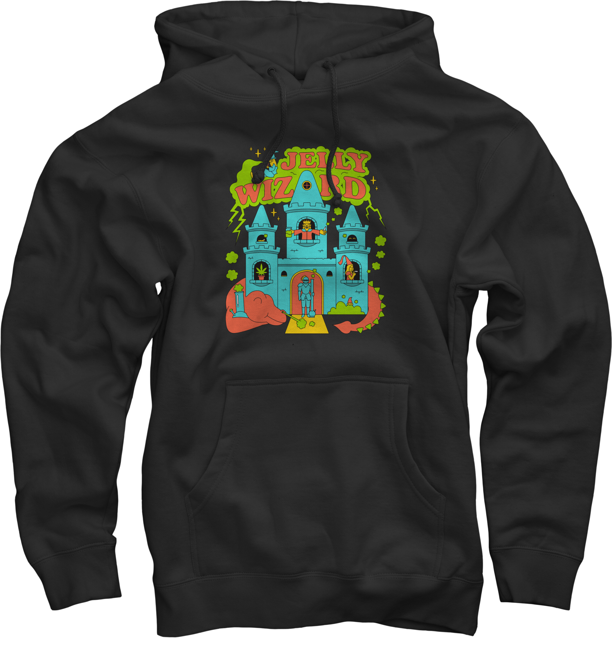 JWIZZY'S DUNGEON HOODIE