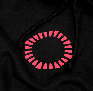 Circle Gear Patch Black Pullover