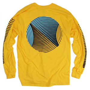 Wavy Yellow Long Sleeve