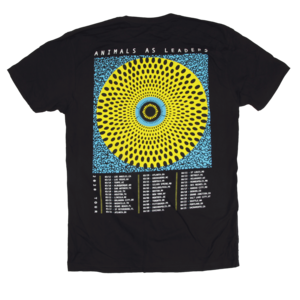 Cancelled Tour Date Back Tee - Black