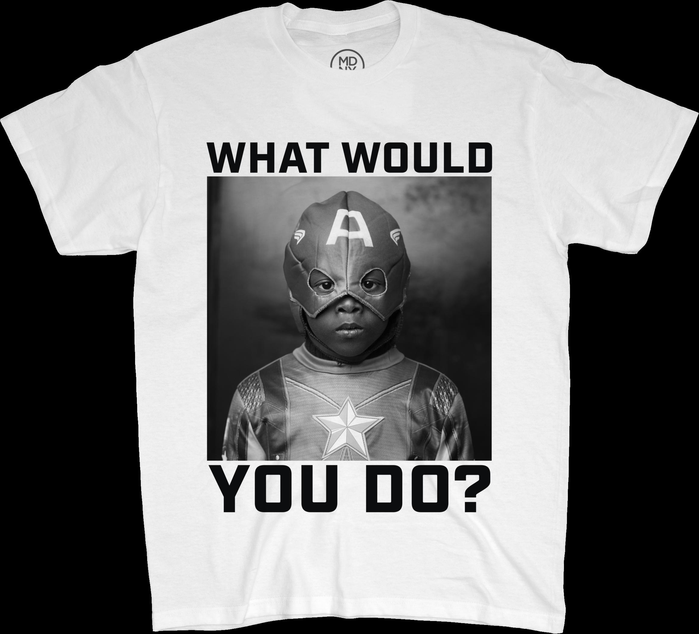 WWYD? White T-Shirt