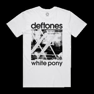 White Pony 20th Anniversary White T-Shirt