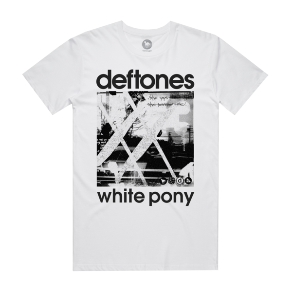 White Pony 20th Anniversary White T-Shirt