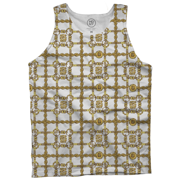 Gold Links Dye Sub Tank Top