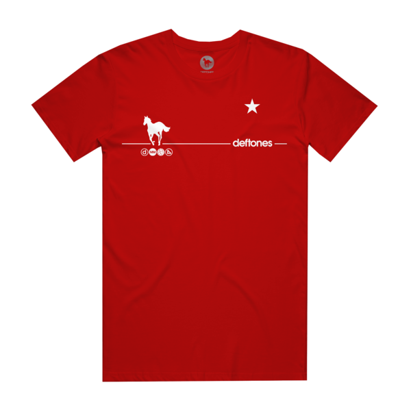 White Pony 20th Anniversary Red T-Shirt