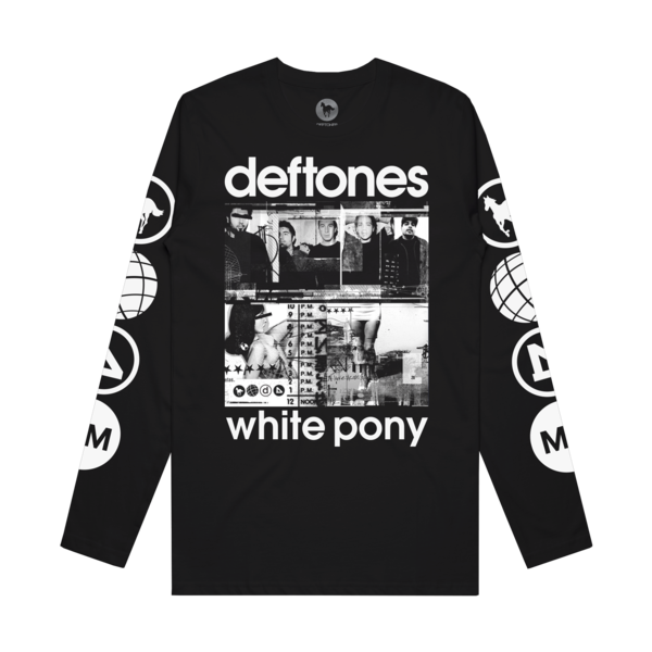 White Pony 20th Anniversary Black LS
