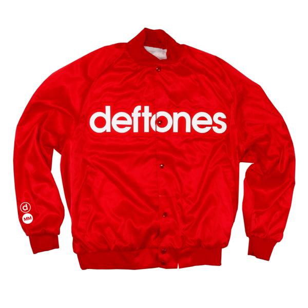 White Pony 20th Anniversary Red Satin Jacket