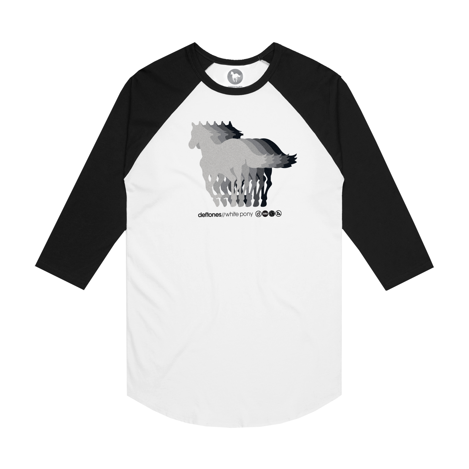 White Pony 20th Anniversary Baseball Tee