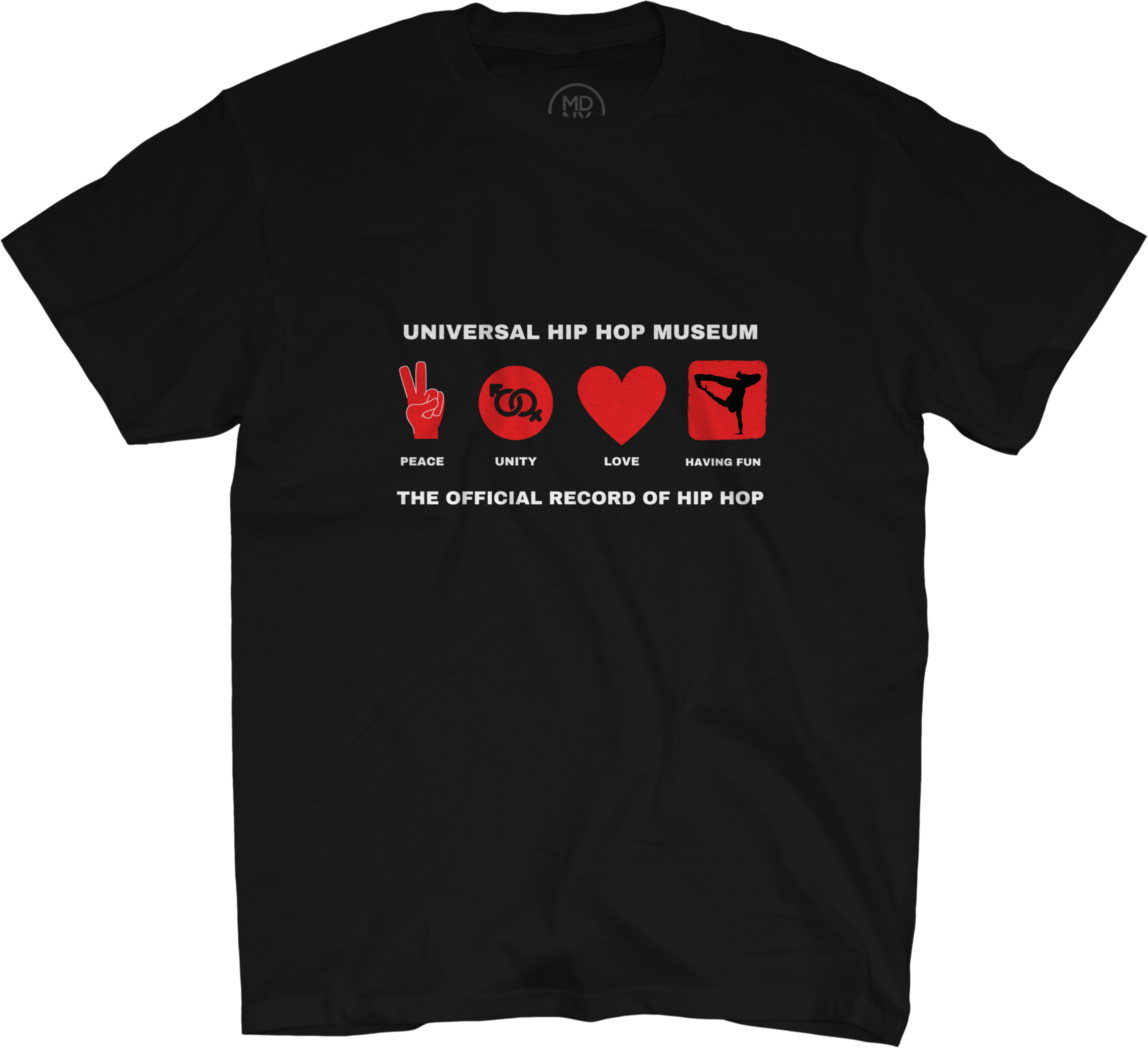 Peace Unity Love Having Fun Tee Shirt