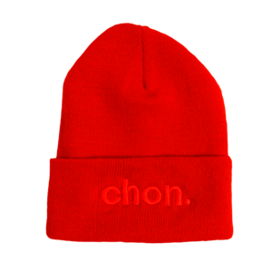 Red on Red Beanie