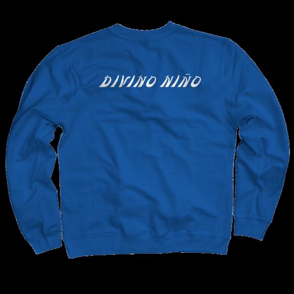 Divino Nino Royal Blue Crewneck