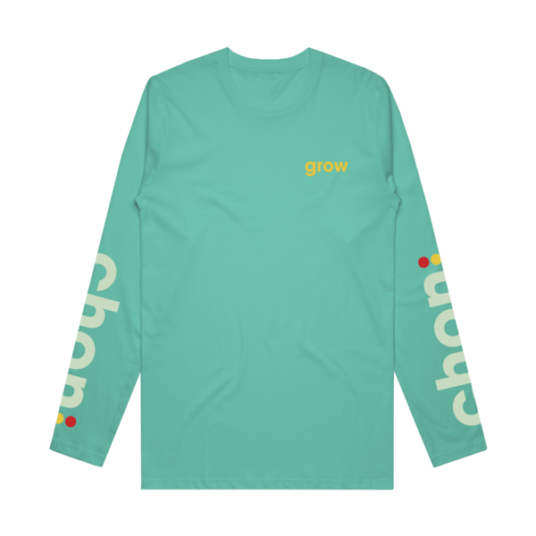 Grow 2 - Celadon Long Sleeve