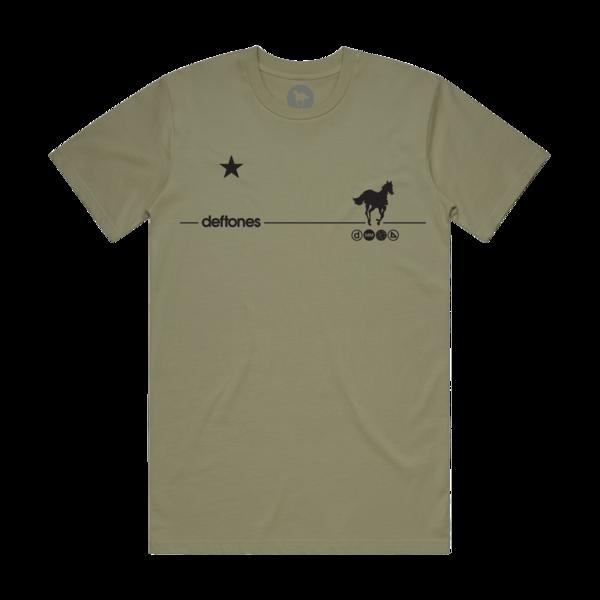 Black Stallion // Olive Tee
