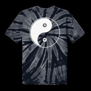 Black Stallion // Yin Yang Tie Dye Tee