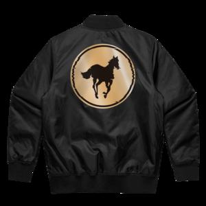 Black Stallion // Bomber Jacket
