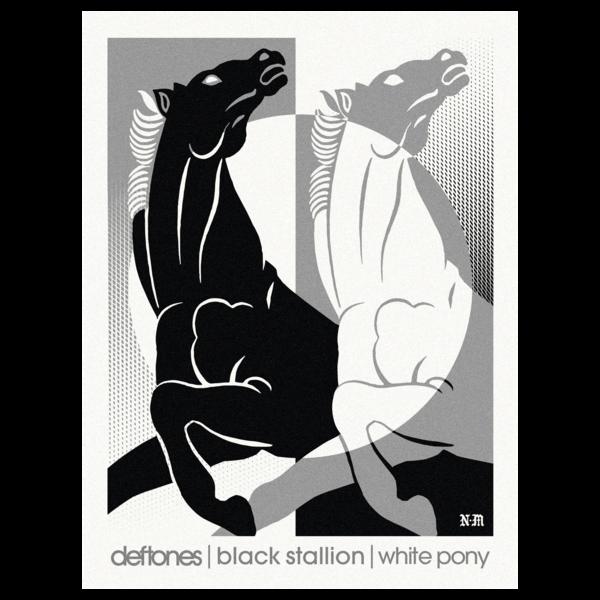 Deftones x Never Made // Lithograph
