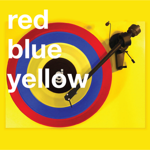 Coloring Book Vinyl - Red, Blue, Yellow