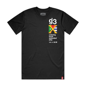 Coloring Book X - Black Tee