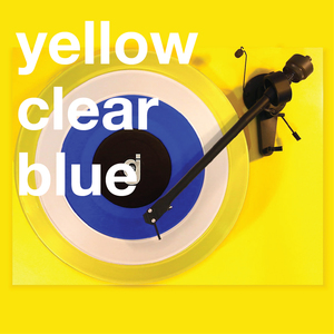 Coloring Book Vinyl - Yellow, Clear, Blue