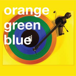 Coloring Book Vinyl - Orange, Green, Blue