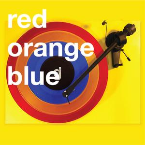 Coloring Book Vinyl - Red, Orange, Blue