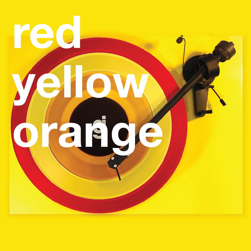 Coloring Book Vinyl - Red, Yellow, Orange