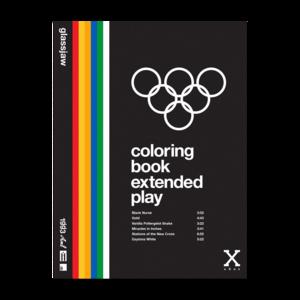 Coloring Book Vinyl - Clear, Blue, Orange