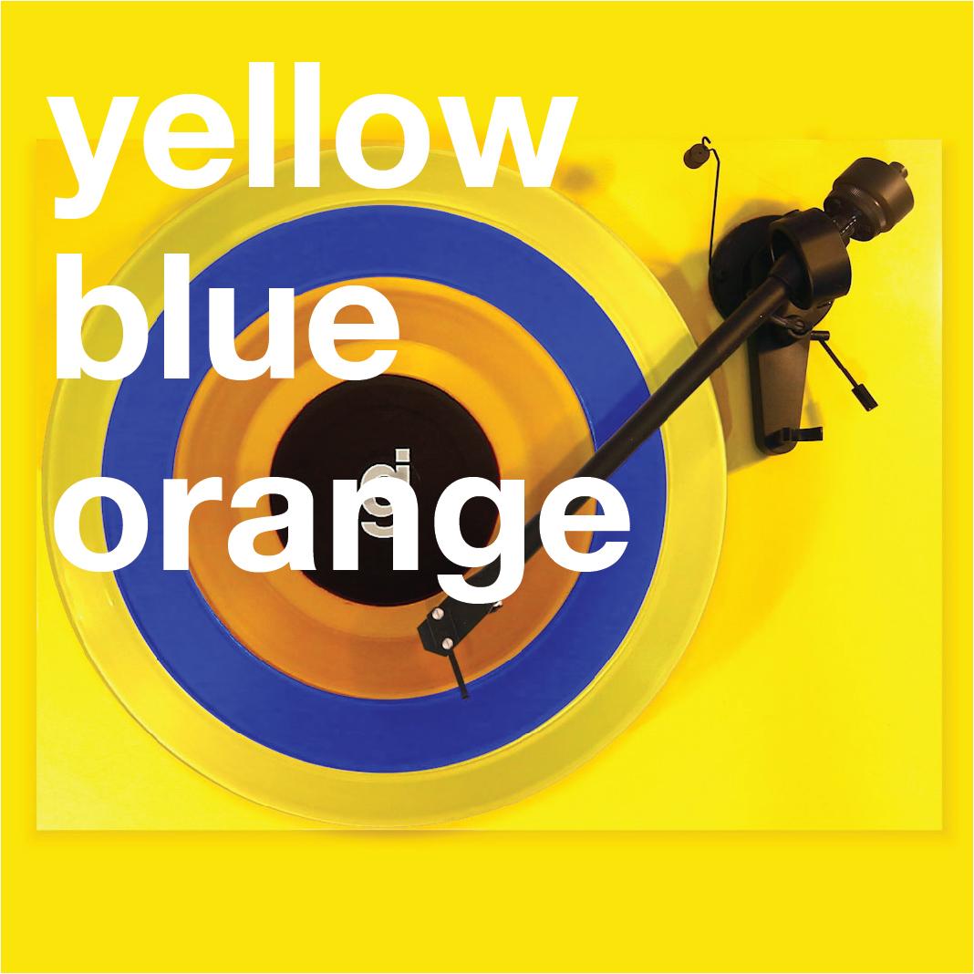 Coloring Book Vinyl - Yellow, Blue, Orange