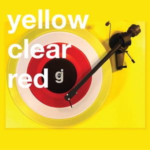 Coloring Book Vinyl - Yellow, Clear, Red