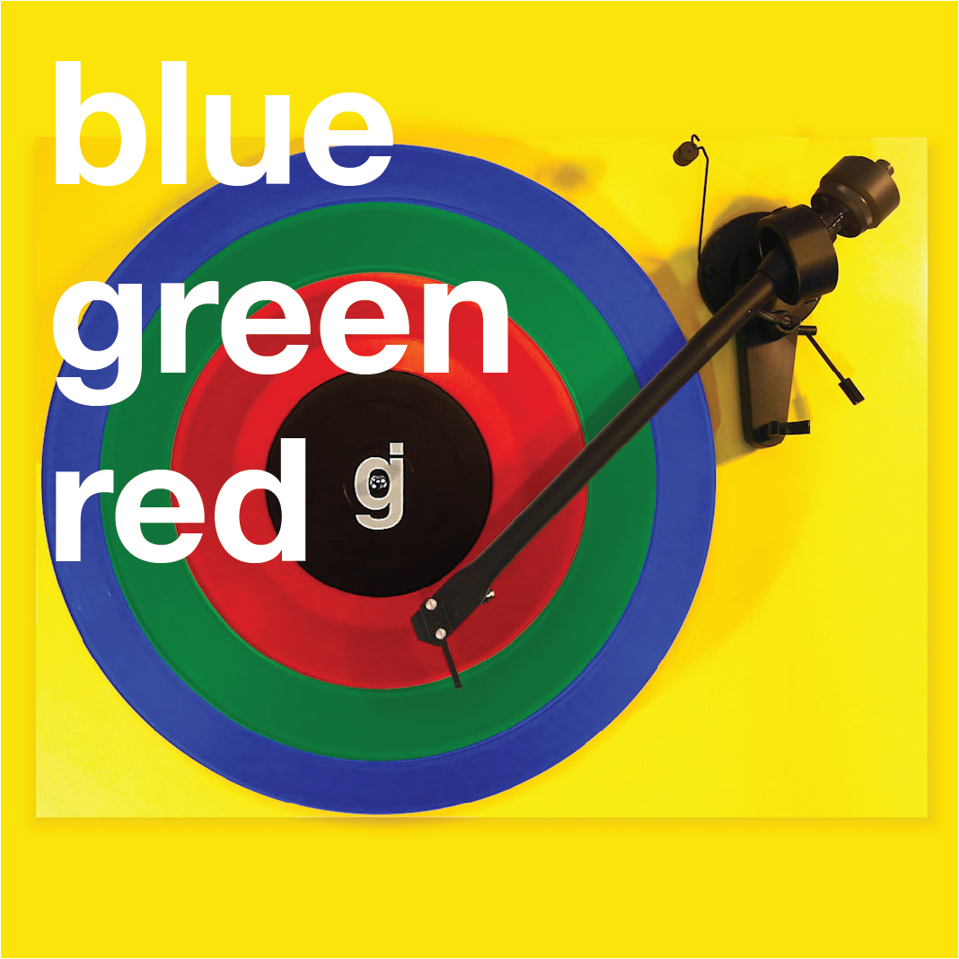 Coloring Book Vinyl - Blue, Green, Red