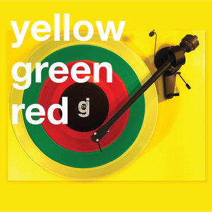 Coloring Book Vinyl - Yellow, Green, Red