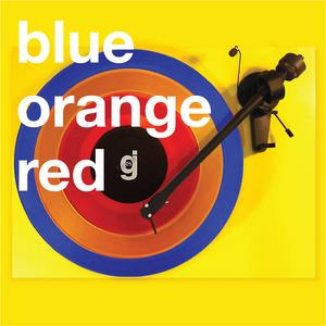 Coloring Book Vinyl - Blue, Orange, Red